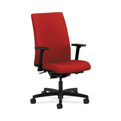 HON Ignition Mid-Back Task Chair in Tomato ; UPC: 089192893751