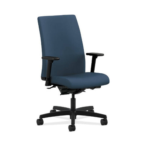 HON Ignition Mid-Back Task Chair in Jet ; UPC: 631530097392