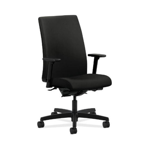HON Ignition Mid-Back Task Chair in Black ; UPC: 089191191919