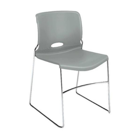 HON Olson High-Density Stacking Chair HON4041PT, Silver (UPC:791579435477)