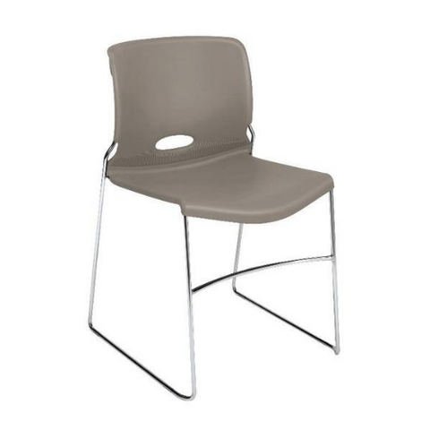 HON Olson High-Density Stacking Chair HON4041SD, Gray (UPC:791579422972)