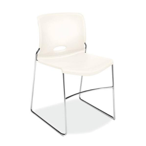 HON Olson High-Density Stacking Chair HON4041WT, White (UPC:881728009519)