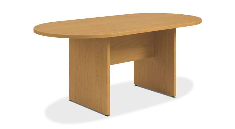 Buy HON Preside Conference Table In Harvest HTLALPNCC Online - Hon racetrack conference table