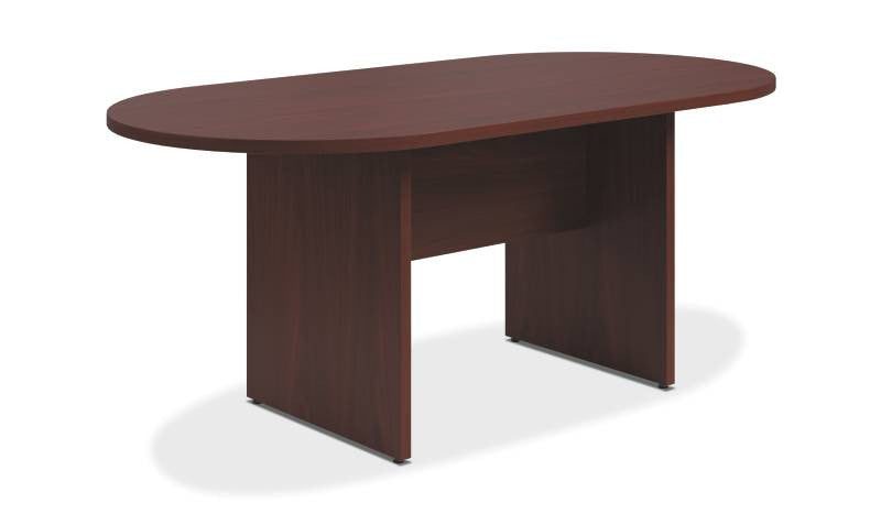 Buy HON Preside Conference Table In Mahogany HTLALPNNN Online - Preside conference table