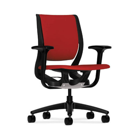 HON Purpose Mid-Back Chair in Tomato ; UPC: 089191453468
