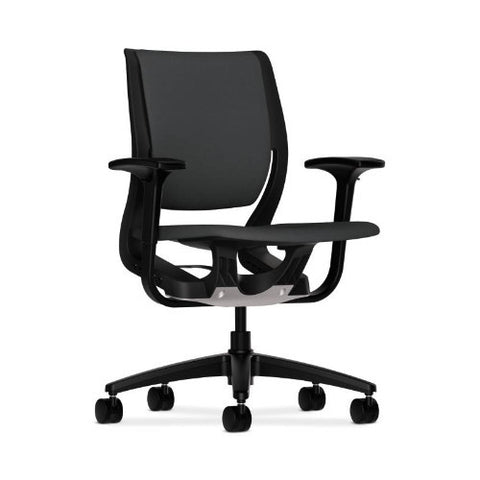 HON Purpose Mid-Back Chair in Carbon ; UPC: 889218157849