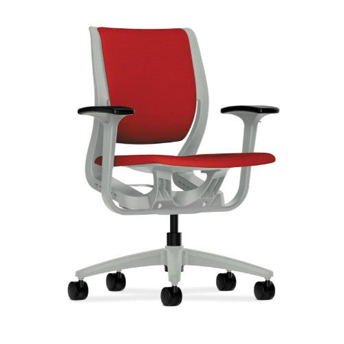 HON Purpose Mid-Back Chair in Tomato ; UPC: 888206712671