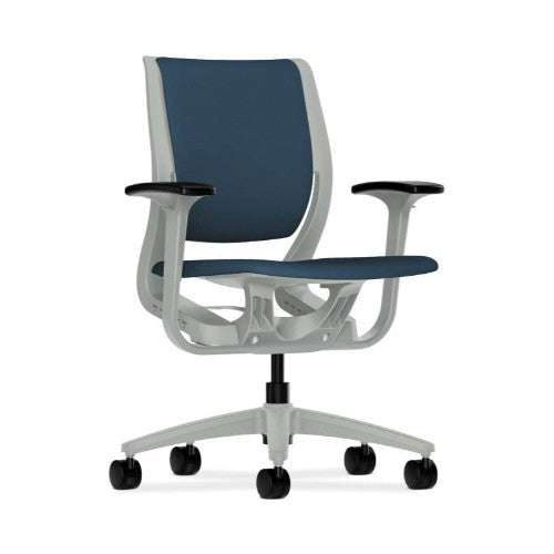 HON Purpose Mid-Back Chair in Jet ; UPC: 888852728194