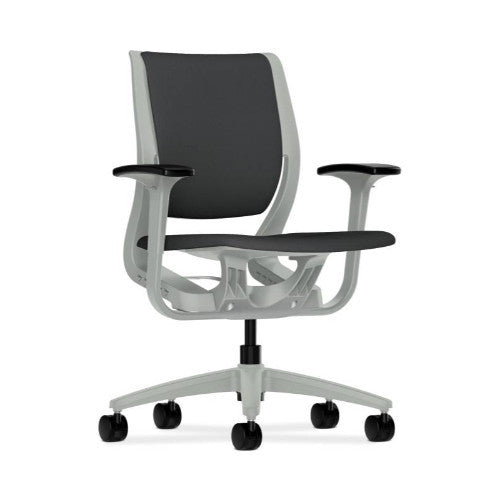 HON Purpose Mid-Back Chair in Carbon ; UPC: 888852689129