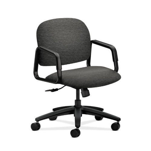 HON Solutions Seating Mid-Back Chair in Onyx ; UPC: 641128117357