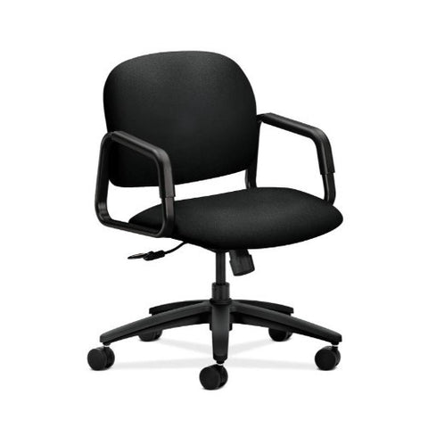 HON Solutions Seating Mid-Back Chair in Black ; UPC: 782986555698