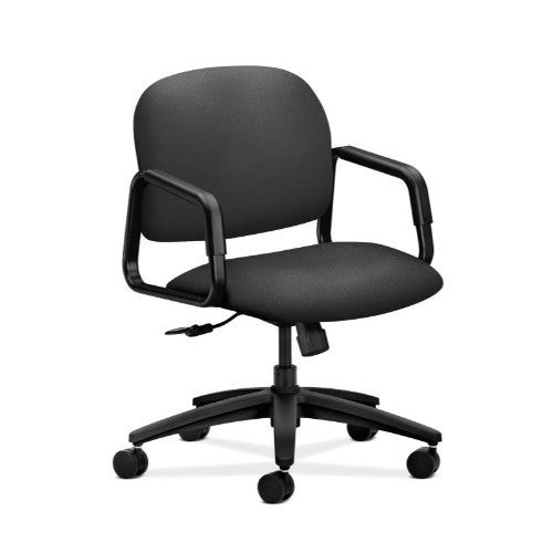 HON Solutions Seating Mid-Back Chair in Iron Ore ; UPC: 631530664570