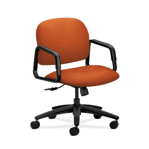 HON Solutions Seating Mid-Back Chair in Tangerine ; UPC: 631530125897