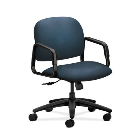 HON Solutions Seating Mid-Back Chair in Cerulean ; UPC: 631530468826