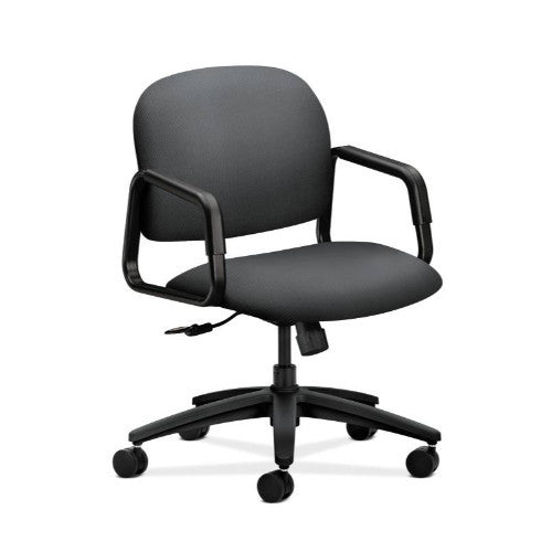 HON Solutions Seating Mid-Back Chair in Onyx ; UPC: 888206020417