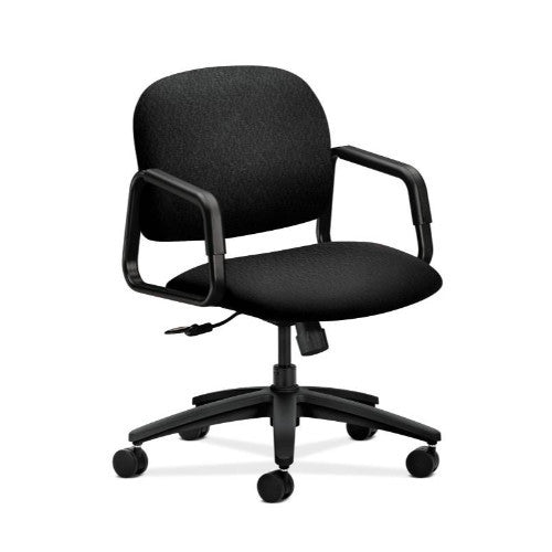 HON Solutions Seating Mid-Back Chair in Black ; UPC: 645162671424