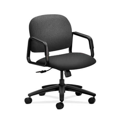 HON Solutions Seating Mid-Back Chair in Charcoal ; UPC: 641128157780