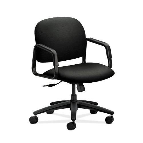 HON Solutions Seating Mid-Back Chair in Black ; UPC: 631530249135