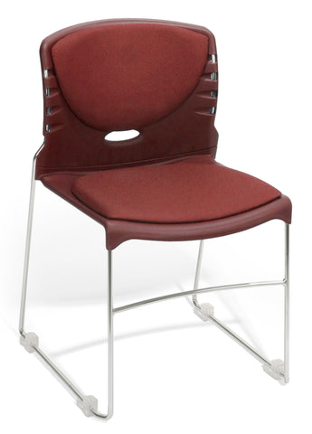 OFM 320-F-803 Stack Chair with Fabric Seat and Back ; UPC: 811588014071 ; Image 1