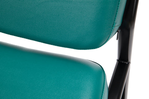 OFM Model 405-VAM Armless Guest and Reception Chair, Anti-Microbial/Anti-Bacterial Vinyl, Teal ; UPC: 811588014323 ; Image 9