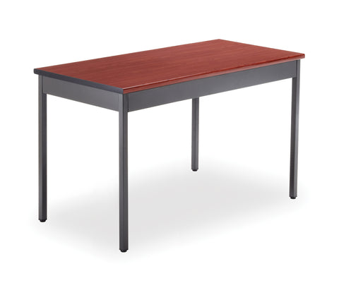 "OFM Model UT2448 24"" x 48"" Multi-Purpose Utility Table, Cherry ; UPC: 811588013111 ; Image 1"