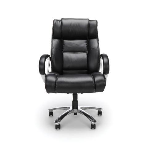 OFM  810-LX Big and Tall Executive High Back Chair, Leather, Black ; UPC: 845123031773 ; Image 2