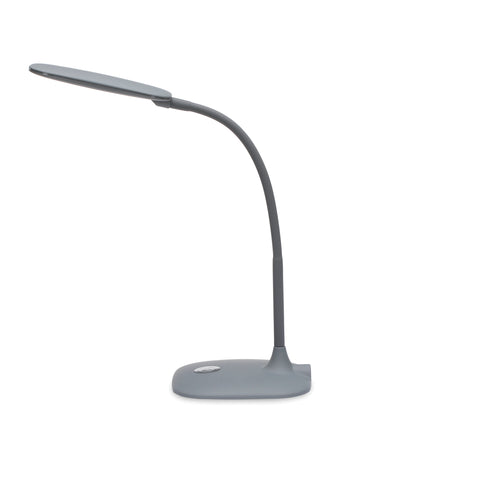OFM ESS-9003-GRY  Essentials LED Desk Lamp with Touch Control, Gray ; UPC: 192767000567 ; Image 5