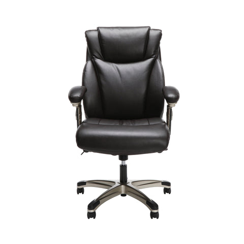 OFM Essentials Series Ergonomic Executive Bonded Leather Office Chair, in Brown (ESS-6046-BRN) ; UPC: 192767000307 ; Image 2
