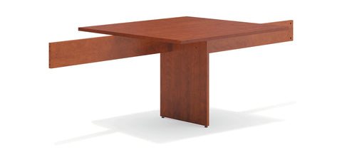 "HON Modular Conference Table, 48"" Adder Section, Medium Cherry (BSXBLMT48A) ; UPC: 641128330022 ; Image 1"