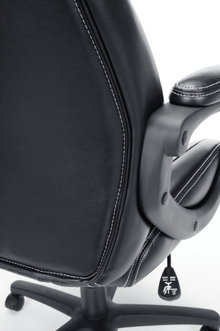 Essentials by OFM ESS-6060 High-Back Racing Style Bonded Leather Executive Chair, Black ; UPC: 845123089354 ; Image 11