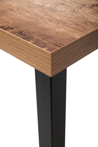 "OFM Essentials Collection 48"" Table Desk, Knotty Oak Woodgrain (ESS-1051-BLK-KOA) ; UPC: 192767000147 ; Image 11"
