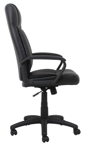 Essentials by OFM ESS-103 High Back Bonded Leather Manager's Chair, Black ; UPC: 845123080108 ; Image 4