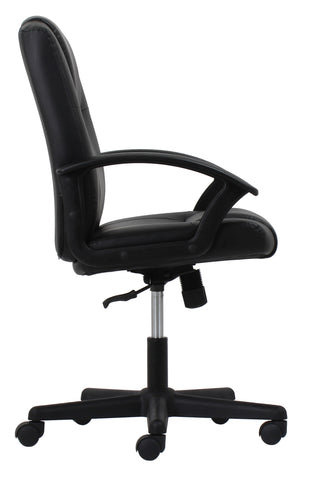 OFM Essentials Collection Executive Office Chair, Bonded Leather, in Black (ESS-6000) ; UPC: 089191013822 ; Image 4