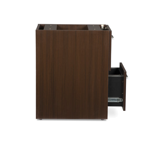 OFM Fulcrum Series Locking Pedestal, 2-Drawer Filing Cabinet, Espresso (CL-FF-ESP) ; UPC: 845123097489 ; Image 8