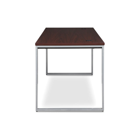 OFM Fulcrum Series 72x30 Desk, Minimalistic Modern Office Desk, Mahogany (CL-D7230-MHG) ; UPC: 845123097137 ; Image 5