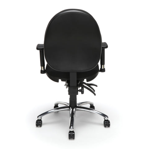 OFM 24 Hour Big and Tall Ergonomic Task Chair - Computer Desk Swivel Chair with Arms, Black (247) ; UPC: 845123031377 ; Image 3