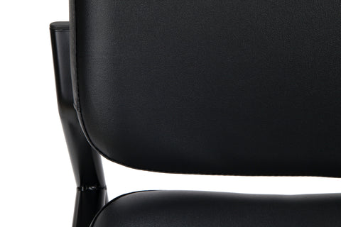 OFM Model 405-VAM Armless Guest and Reception Chair, Anti-Microbial/Anti-Bacterial Vinyl, Black ; UPC: 811588014361 ; Image 8