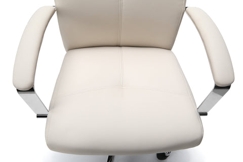 Essentials by OFM E1003 Executive Conference Chair, Cream ; UPC: 845123048436 ; Image 8
