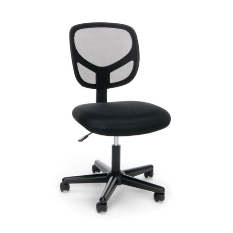 OFM Essentials Collection Mesh Back Office Chair, Armless, in Black (ESS-3000) ; UPC: 089191013310 ; Image 1