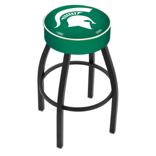 "25"" Michigan State Cushion Seat Swivel Bar Stool by Holland Bar Stool Company ; UPC: 071235090524"