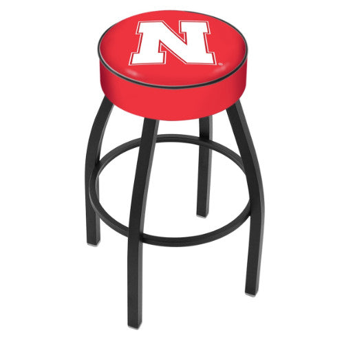 "25"" Nebraska Cushion Seat Swivel Bar Stool by Holland Bar Stool Company ; UPC: 071235091569"