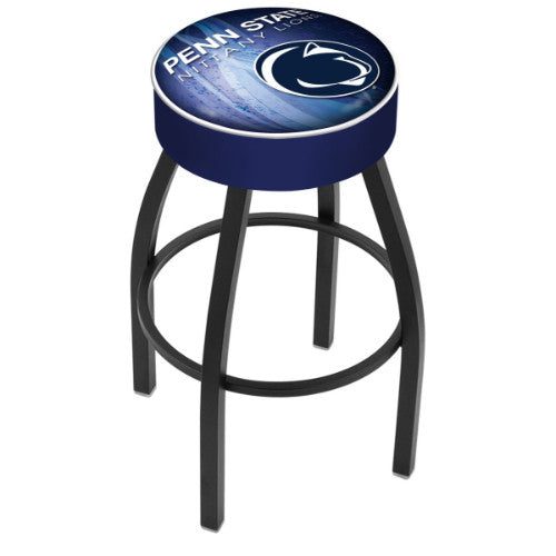 "30"" Penn State (Design 2) Cushion Seat Swivel Bar Stool by Holland Bar Stool Company ; UPC: 071235096823"