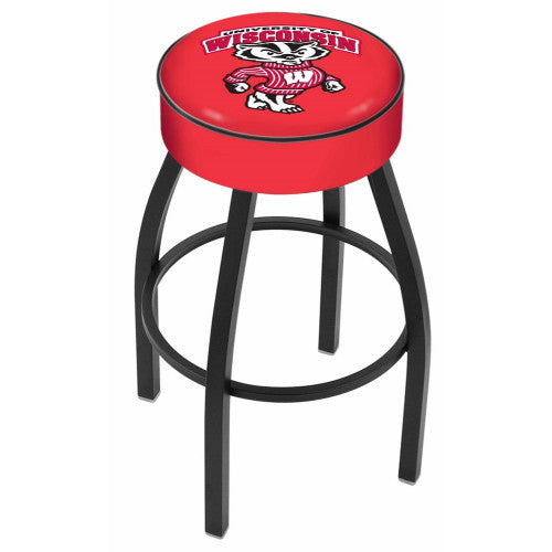"30"" Wisconsin ""Badger"" Cushion Seat Swivel Bar Stool by Holland Bar Stool Company ; UPC: 071235091972"