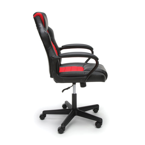 Essentials by OFM ESS-3083 Racing Style Gaming Chair, Red ; UPC: 845123092910 ; Image 4
