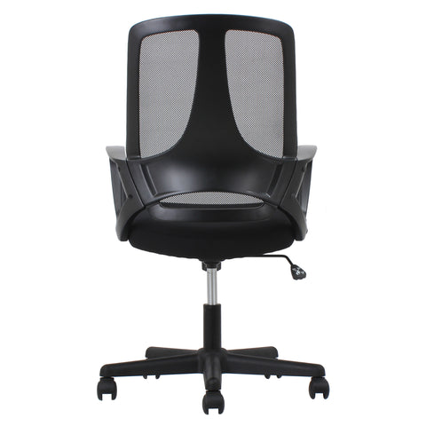 Essentials by OFM ESS-3040 Swivel Mesh High-Back Task Chair with Arms, Black ; UPC: 089191013624 ; Image 3
