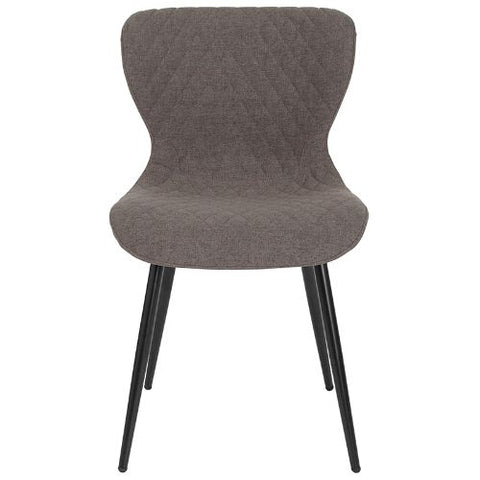 Flash Furniture Bristol Contemporary Upholstered Chair in Gray Fabric LF907AGRYFGG ; Image 4 ; UPC 889142339939