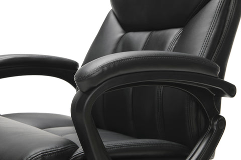Essentials by OFM ESS-6020 Executive Office Chair, Black with Black Frame ; UPC: 845123092828 ; Image 8