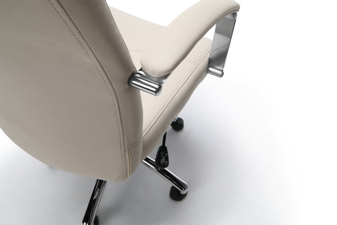 Essentials by OFM E1003 Executive Conference Chair, Cream ; UPC: 845123048436 ; Image 9