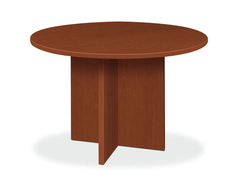 "HON BL Series Office Table, 48"" Round, Medium Cherry (BSXBLC48D) ; UPC: 641128260220 ; Image 1"