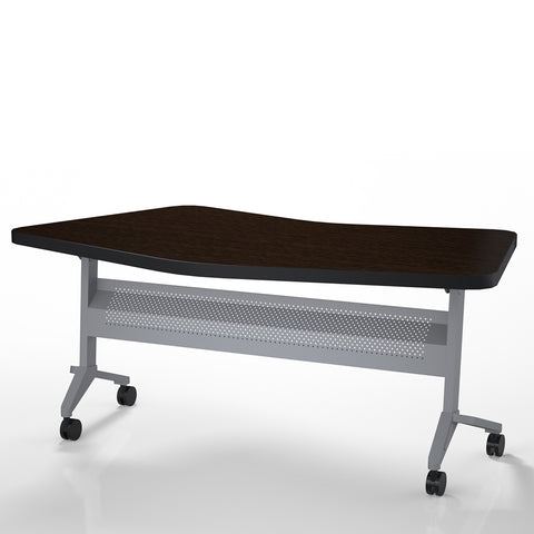 "Safco Products Flip-N-Go 24""x72"" Rectangular Training Table, LPL LT24TLDCM(Image 2)"